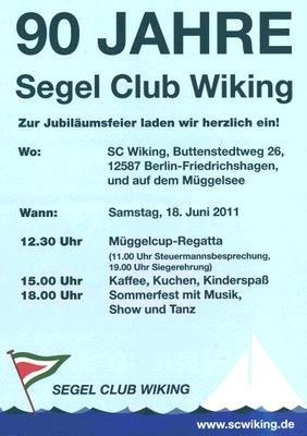 Plakat zum Sommerfest 2011