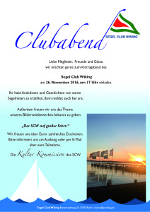 Clubabend am 26.11.2016