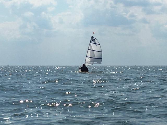 Segeln mit dem Faltboot auf der Ostsee